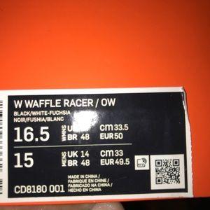 Off white x Nike waffle racers